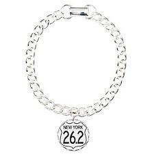 MarathonShield_NY Charm Bracelet, One Charm
