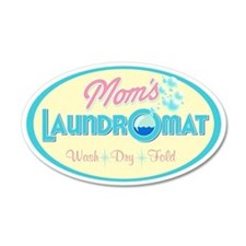 MomsLaundry_Oval Wall Decal