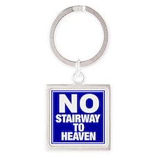 NoStairway Square Keychain