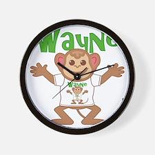 wayne-b-monkey Wall Clock