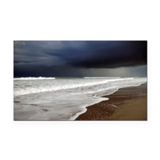 Storm rolling in Rectangle Car Magnet