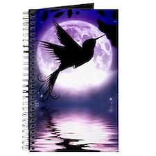 Moonlit Hummingbird Journal