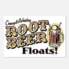 RootBeerFloats Postcards (Package of 8)