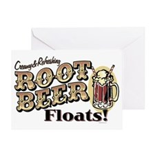 RootBeerFloats Greeting Card