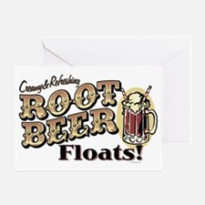 RootBeerFloats Greeting Card