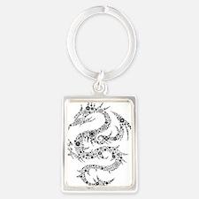 dragon Portrait Keychain