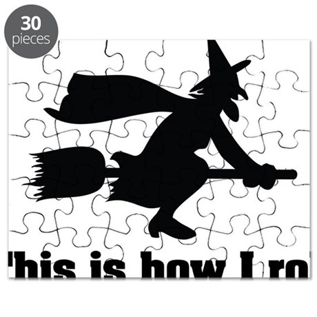how i roll witch1 Puzzle