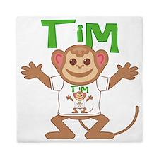 tim-b-monkey Queen Duvet