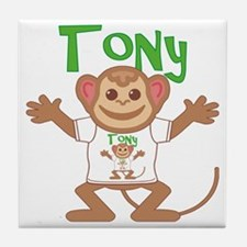 tony-b-monkey Tile Coaster
