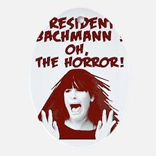 bachman-horror Oval Ornament