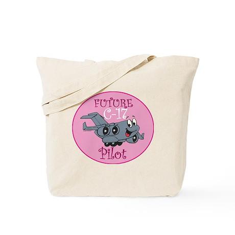 Mil 2 C17 baby pilot F Tote Bag