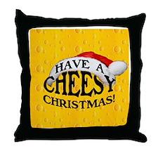 CheesyXorn Throw Pillow