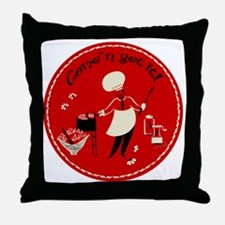 ComeNGetIt Throw Pillow