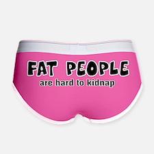 fat people3 Women's Boy Brief