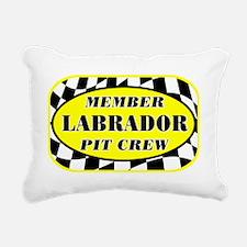 labradorpitcrew_black Rectangular Canvas Pillow
