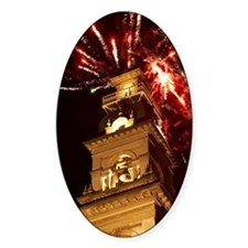 Fireworks and Municipal Chambers Cl Decal