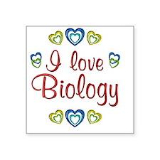 "biology Square Sticker 3"" x 3"""