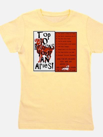 Aries8.gif Girl's Tee