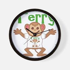 terry-b-monkey Wall Clock
