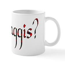 Glasgow tartan got haggis Mug