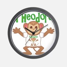 theodore-b-monkey Wall Clock
