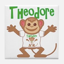 theodore-b-monkey Tile Coaster