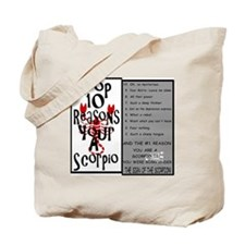 Scorpio6.gif Tote Bag