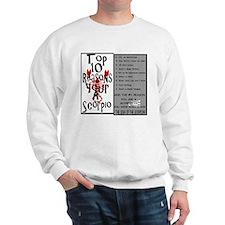 Scorpio6.gif Sweatshirt