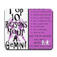 Gemini6 Mousepad