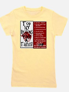 Taurus6.gif Girl's Tee