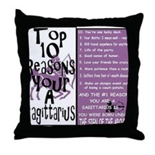 Sagitarious6 Throw Pillow