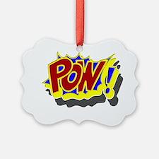 comic book pow Ornament