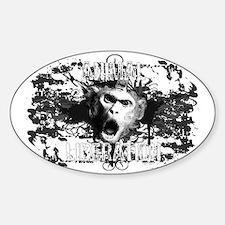 animal-liberation-01 Sticker (Oval)