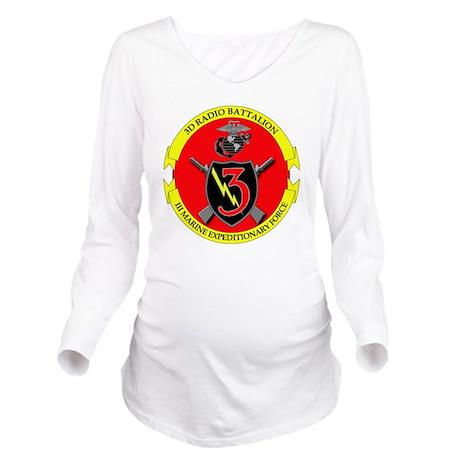SSI-USMC-3RD RADIO B Long Sleeve Maternity T-Shirt