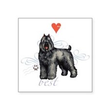 "bouvier T1-K Square Sticker 3"" x 3"""