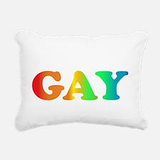Im not gay2 Rectangular Canvas Pillow