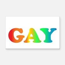 Im not gay2 Rectangle Car Magnet
