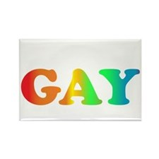 im not gay4 Rectangle Magnet