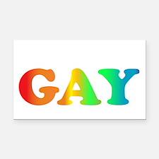 im not gay4 Rectangle Car Magnet