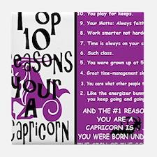 Capricorn6.gif Tile Coaster
