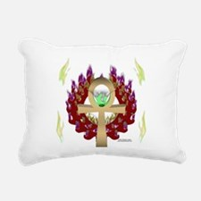 Forever Ankh Rectangular Canvas Pillow