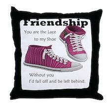 laces Throw Pillow