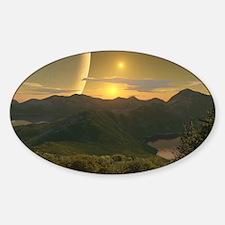 HillsOfMoreana2066H Sticker (Oval)
