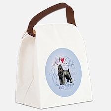 bouvier-round Canvas Lunch Bag