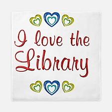 library Queen Duvet