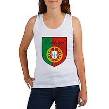 Portugal Flag Crest Shield Women's Tank Top