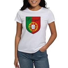 Portugal Flag Crest Shield Tee