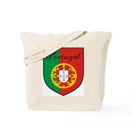 Portugal Flag Crest Shield Tote Bag