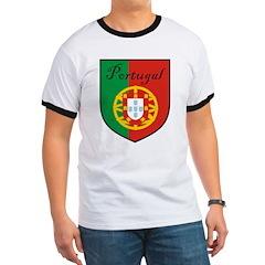 Portugal Flag Crest Shield T