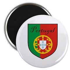 Portugal Flag Crest Shield 2.25